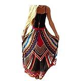 Hippolo Weinlese-Thailand-Art-Rock-Mode-hohe Taillen-Frauen Boho druckte Strand-lange Maxi-Röcke Feiertags-Kleidung (Stil 1)