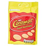 Caramac Giant Buttons Chocolate Share Bag, 110 g, Pack of...