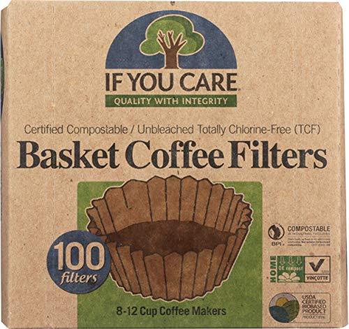 Cestas de filtro de café If You Care 1 x 100 c