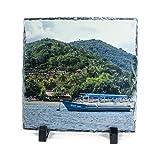ShirtInStyle Foto auf Schieferplatte mit deinem Foto verzaubert