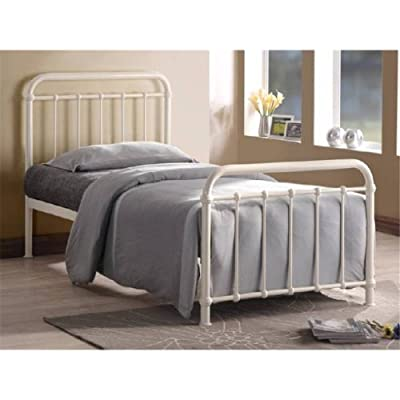 Classic Ivory Single 3ft Metal Bed Frame