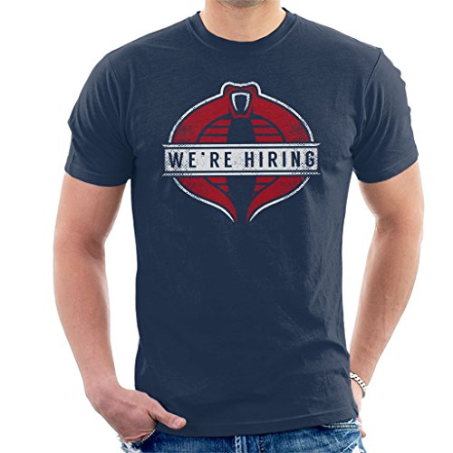 GI Joe Cobra Commander We're Hiring Men's T-Shirt -