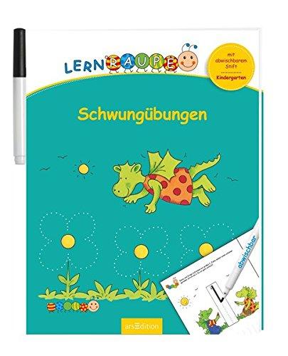 Lernraupe - Schwungübungen: Mit abwischbarem Stift (Kindergarten-Lernraupe)