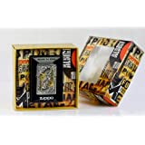 Zippo briquet avec emblème 2.004.000.1 revolver volume 2 boîtes cadeau, special edition, chrome brossé