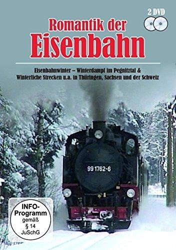 Romantik der Eisenbahn - Eisenbahnwinter, Winterdampf im Pegnitztal & Winterliche Strecken u.a. in...