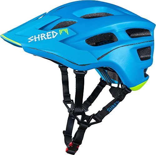 Shred Short Stack Scream Blue - MTB Helmet - Size M/XL (57-61)