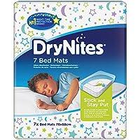 Huggies DryNites Kinder Bed Mats Betteinlagen, 7 Stück