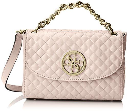 Guess Damen Bags Hobo Shopper, Pink (Blush), 5.5x18x28 centimeters (Gesteppte Hobo-handtaschen-taschen)