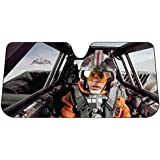 Plasticolor 003702R01 Star Wars Snow Speeder Accordion Bubble Sunshade by Plasticolor
