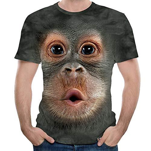 Geburtstag Mädchen Cap Sleeve T-shirt (Beonzale Männer Frühling Sommer 3D Print Oansatz Kurzarm T Shirt Tops Bluse Männer Sweatshirt Casual Sport Tops Tanktop Tshirt)