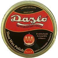 Dazlo® Shoe Polish - Black (10x40g) - Handmade Natural Wax
