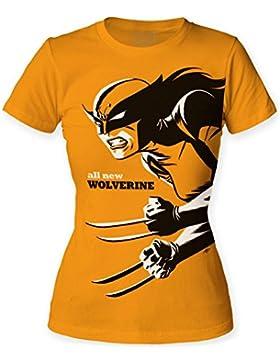 Other - Canotta - T-shirt con stampe - Maniche corte  - opaco -  ragazza Gold Small