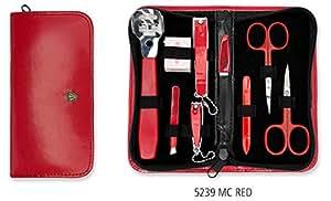 TROIS EPÉES | Kit / set / ensemble / trousse de manicure - manucure - pédicure - beauty / beaute - soins des ongles / personnels / mains / pieds | 9 pièces | marque de qualitè (935212)