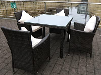Poly-Rattan Gartenmöbel-Set Gartengarnitur Balkonmöbel-Set GM13 Braun