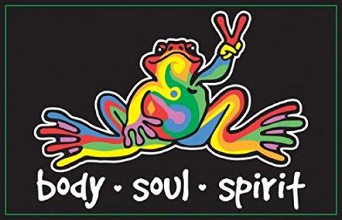 peace-frogs-body-soul-spirit-blacklight-art-print-poster