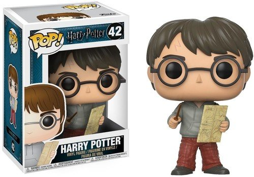 Funko - POP! Sticker Harry Potter Collection - Figure Harry with the Marauder's Map (14936)