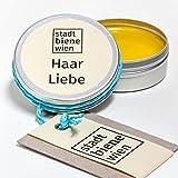 Stadtbiene Wien Bio-Haarspitzenpflege mit Bienenwachs und Brokkolisamenöl in der Dose - Ideal für die tägliche Pflege widerspenstiger Haarspitzen, ohne Silikon und Parabene, 100% Bio-Kosmetik aus Wien