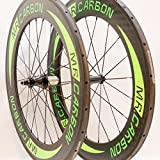 MR Carbon 88 (mm depth) Tubular Wheelset With Basalt Braking Surface