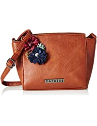 Caprese Petal Women's Sling Bag (Saddle)