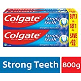 Colgate Strong Teeth Anti-Cavity Toothpaste – 200 gm (Buy 3 Get 1 Free)