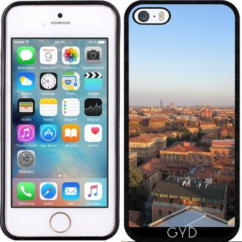 Coque pour Iphone 4/4S - Bologne Horizon by Cadellin Silicone