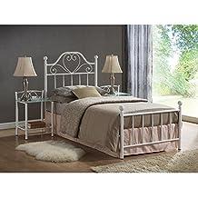 suchergebnis auf f r metallbett 120x200. Black Bedroom Furniture Sets. Home Design Ideas