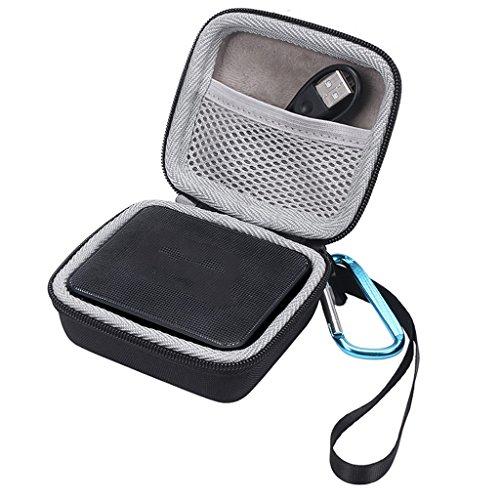 hgfcdd Portable Eva Zipper Hard Case Storage Bag Box for JBL Go 1/2 Bluetooth Speaker (Hard Case Storage Box)