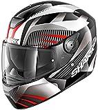 Msg Bike Gear Shark D-SKWAL - Casco de moto + viseras adicionales