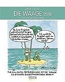 Waage 2018: Sternzeichen-Cartoonkalender -
