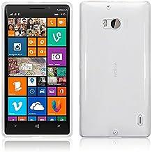 TBOC® Funda de Gel TPU Transparente para Nokia Lumia 930 de Silicona Ultrafina y Flexible