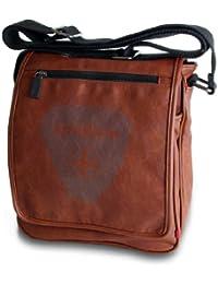 Strellson de sport line messenger hF 02/91/05019 sacoche 24 x 28 x 8 cm (cognac)
