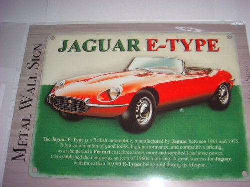 jaguar-e-type-a-british-classic-mini-enamel-metal-sign-8-x-6