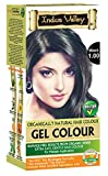 Indus Valley Black Gel Hair Dye Colouring Kit 1.0