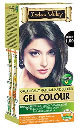 Indus Valley Black Gel Haarfärbemittel 1.0