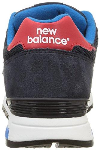 New Balance ML565 D, Baskets Basses Homme Bleu (Sgb Navy/Red)