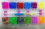 ToyShine Girl's Rainbow Loom Band Kit Toy