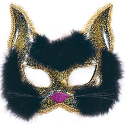 Katze Masquerade Maske - Frauen Silvester Weihnachten Maske - Erwachsene One Size