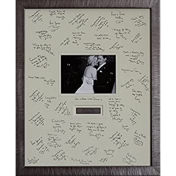 Personalised Wedding Guest Signing Frame Weddings