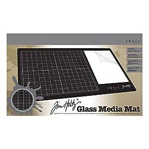 Tim Holtz 1914E Media-Matte aus Glas