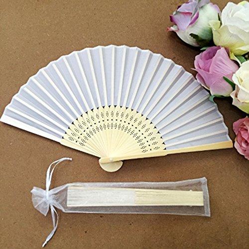ZuverläSsig Papierfächer Handfächer Fächer Weiss Zu Malen Für Hochzeit Fest Theater Hochzeit & Besondere Anlässe