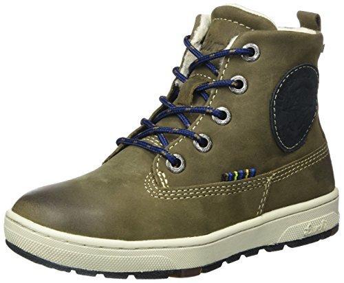Lurchi Jungen Doug-TEX Combat Boots, Beige (Fossil Atlantic 49), 35 EU