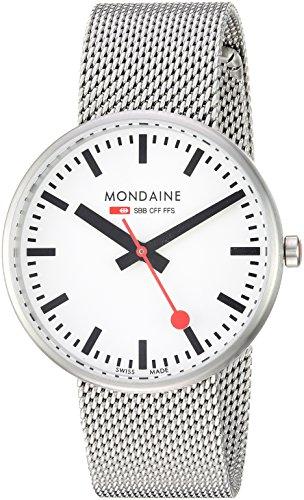 Mondaine A763.30362.16SBM - Reloj de pulsera Mujer, acero inoxidable, color Plata
