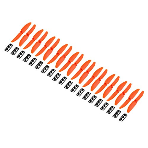 10 Pairs 5030 5x3 Left Right Propeller For The Mini Qav250 Quadcopter-orange