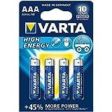 Varta 4903121414 - Batterie LR03 Micro AAA 1.5V High Energy 4er-Packung