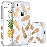 BENTOBEN Coque iPhone 7 Ananas, Coque iPhone 8 Silicone, Etui de Protection...