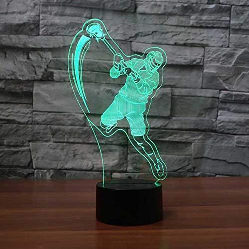 Zoom IMG-2 3d lampada da tavolo giocatore
