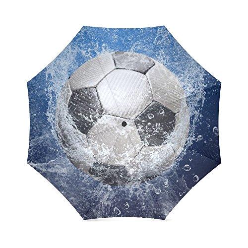 Fútbol balón fútbol plegable paraguas antideslizante