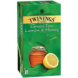 Twinings Green Tea Lemon and Honey, 25 Tea Bags