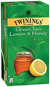 Twinings Green Tea Lemon and Honey, 25 Tea Bags