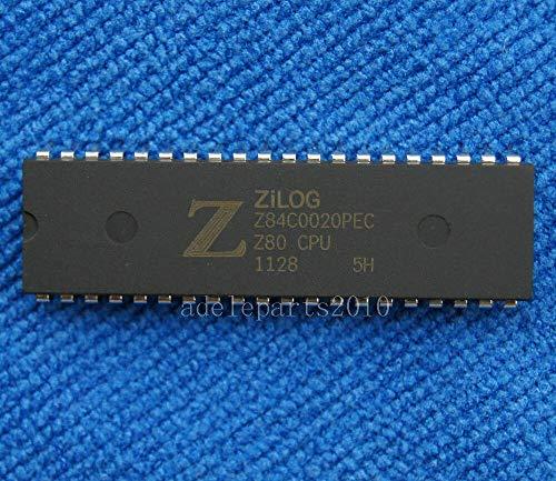 FidgetGear 10PCS Z84C0020PEC Z84C0020 NMOS/CMOS Z80 CPU unità di Elaborazione Centrale DIP-40